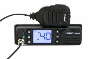 MAAS KCB3000 Emisora CB 27 Mhz 400 canales AM/FM Voltaje 12o24 voltios