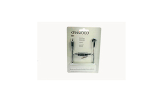 KHS33 KENWOOD Micro-auricular original con PTT tipo boton para walkie  PKT-23.
