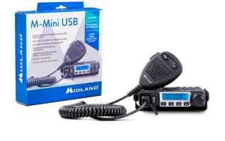 Midland M-Mini Emisora Transceptor CB AM/FM 40 canales