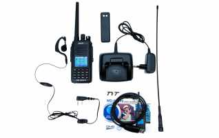 TYT MD-UV390-GPS Walkie  DMR, Doble banda 144/ 430 Mhz + GPS + IP67