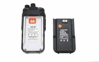 BATMD380LI TYT Bateria 2200mAh 7,4v Li-Ion para MDUV380GPS / MD380VHF y MD380UF
