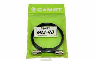 COMET MM-80  - Latiguillo para R.O.E y emisoras - Longitud 80 cm