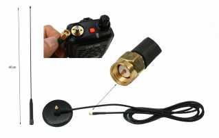 NAGOYA UT-72SMA Antena m�vil magn�tica bibanda VHF (144-175 Mhz.) -UHF (430-470 Mhz.), Longitud 52 centimetros. Con 2,95 metros de cable RG-58 y conector SMA. Potencia: 150 watios