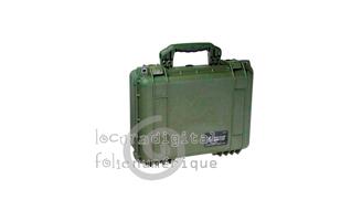 1450000130 Maleta de protección Verde Caqui con espuma