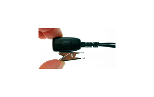 Nauzer PIN-29-SP1. High quality micro-earphone with PTT. For SEPURA TETRA handhelds