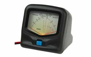 SX-20 - RW-20. Medidor R.O.E. / Watimetro hasta 300 w. HF/VHF 1,8 - 200 MHZ. Medidor de potencia y R.O.E. de doble aguja.