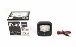 RX40 MAAS Medidor ROE - WATIMETRO 140 - 525 Mhz. 150 wats.Doble Aguja