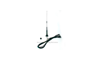 NAGOYA S45B KIT 1 + CABLE LC55 + BASE BL01. !! IDEAL PARA INSTALACION EN VEHICULOS Y SOPORTES !! Antena bibanda 140-150 / 430-460 MHz VHF/UHF. 2.15 / 3.5 dB. max. potencia 150 w. Color Negro.