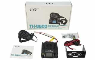 TYT-TH8600 UV BODY emisora movil  MINI BIBANDA VHF/UHF