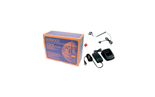 KENWOOD TH-D72E KIT-KSC32. WALKIE BIBANDA VHF/ UHF  + PINGANILLO PIN29 + CARGADOR RAPIDO KSC-32