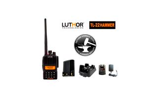 LUTHOR TL-22 HAMMER Walkie monobanda VHF144 mh. Proteccion al agua IP-65 - - Disponibilidad Marzo 2013 -
