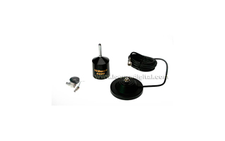 WILSON-5000M Antena CB 27 Mhz con base de Iman 12 cm +5 metros de cable RG58 + PL