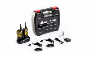MIDLAND XT-50-AVENTURE Pareja Walkies-talkies gama media PMR446 alcance 8 Km