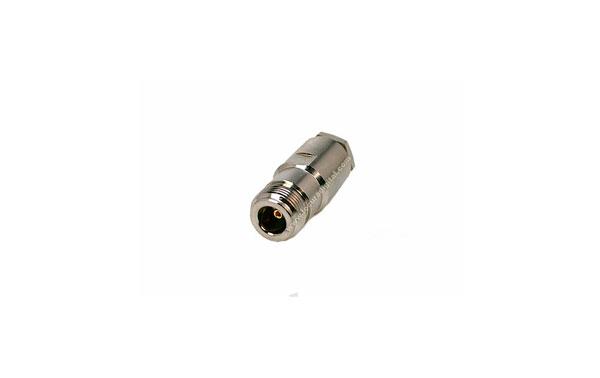CON02080038 MARCU Conector N HEMBRA soldar.Para cable RF-400UF y RF-400LRP,cable diametro10,3 mm vivo 3 mm