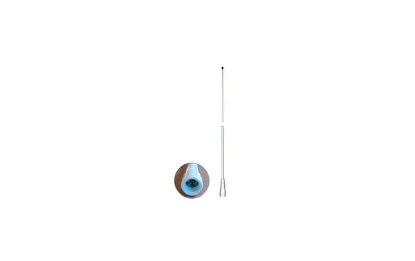 FASTFIT-25-BANTEN VHF Antenna VHF glass fiber Marina Nautica Mhz.6 dB.2,5 156-162 mt.
