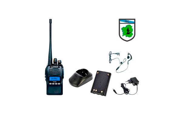 Luthor TL-630 walkie talkie homologado caza galicia