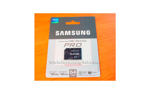 SD Samsung 64GB