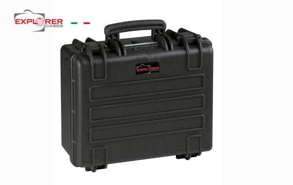 4419B Black Explorer suitcase with Int-L foam 445 x A 345 x P 190 mm