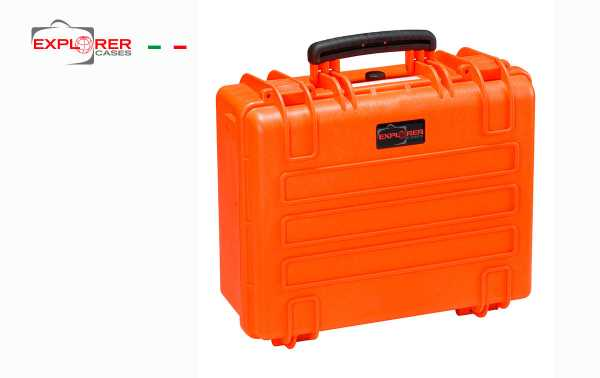 Mala 4419OE Explorador espuma cor de laranja sem Int L 445 x 345 mm x P190