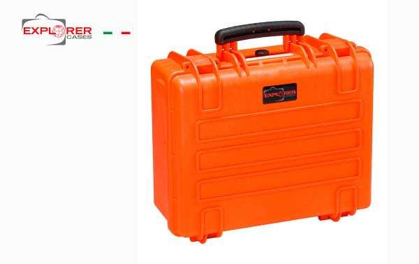 Mala 4419O Explorador espuma laranja Int L 445 x 345 mm x P190