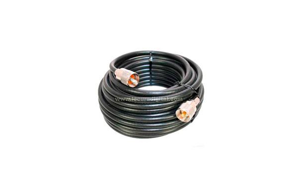 5D2V15 COMET cable coaxial alta calidad con PL desmontable - 15 metros