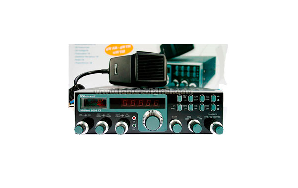 ALAN 8001XT ALAN-MIDLAND 8001 XT.Emisora CB banda lateral ALTAS PRESTACIONES