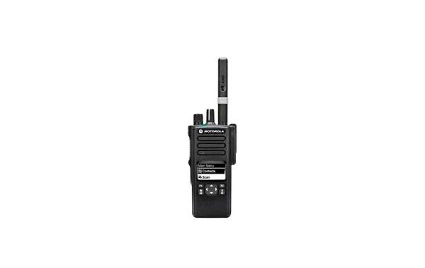 DP4600VHF MOTOROLA MOTOTRBO Walkie Profesional VHF 136-174Mhz.Diplay, teclado reducido