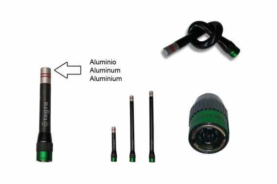 A-400BNA Antena flexible  Frecuencia: 455-520 Mhz