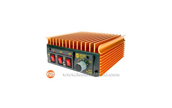 ZETAGI B300P AMPLIFICADOR 20-30 Mhz 12V-200W Previo Rx