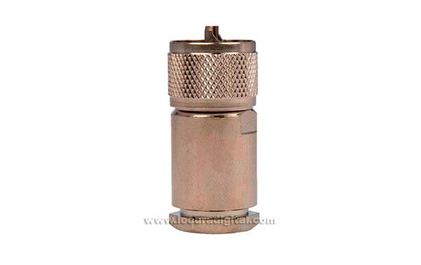 CON2076145 Conector PL Macho Aereo para RG-213. Sistema roscado especial