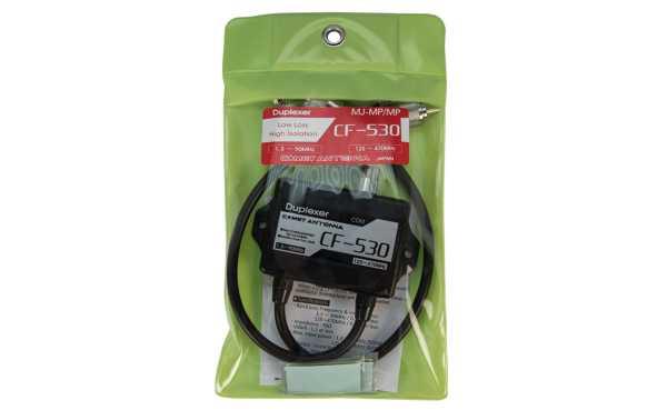 CF530 COMET Duplexor 1,3-60 Mhz / 125-470 Mhz. Conectores PL-259