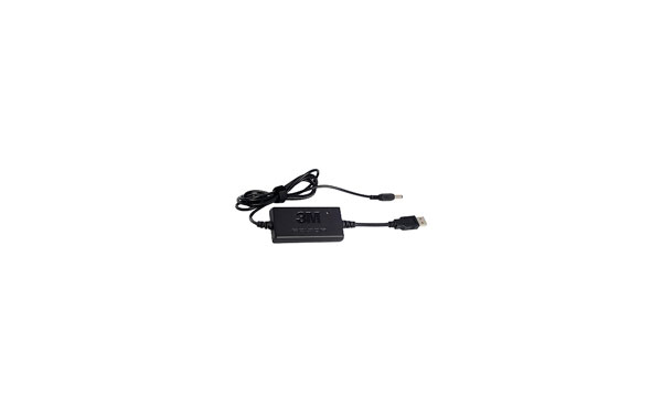 FR09 Peltor cargador USB-conector. Cargador inteligente con indicador LED. Adecuado para WS Alerta XP, ACK053.