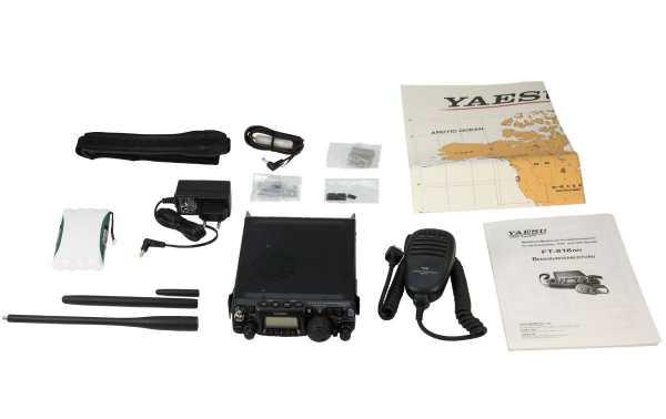 FT818 YAESU Multi-band portable transceiver HF / VHF / UHF