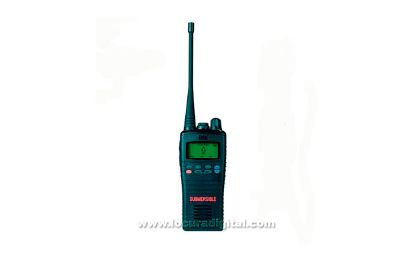 ENTEL HT-715  frecuencia  66-88 Mhz -  IP-68 Sumergible, Walkie profesional con display 255 canales