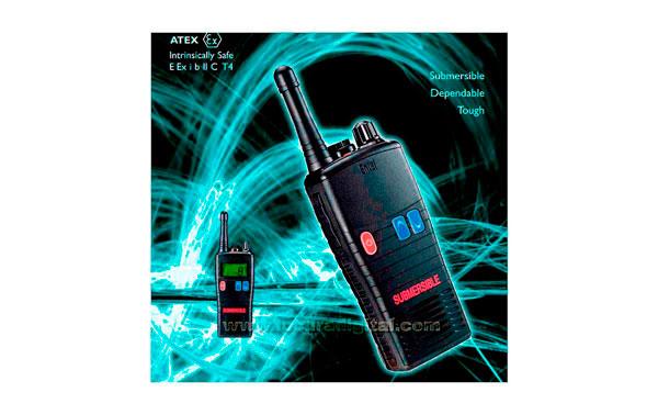 HT952 ENTEL walkie talkie PMR-446 de uso libre sin licencia. Normativa ATEX