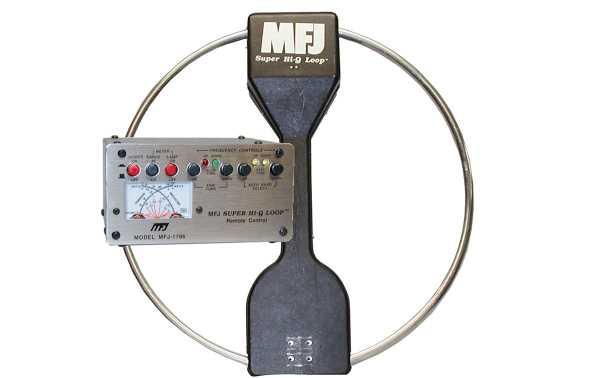MFJ1786X MFJ Emission and reception Super Hi-Q Loop 10 -30 Mhz