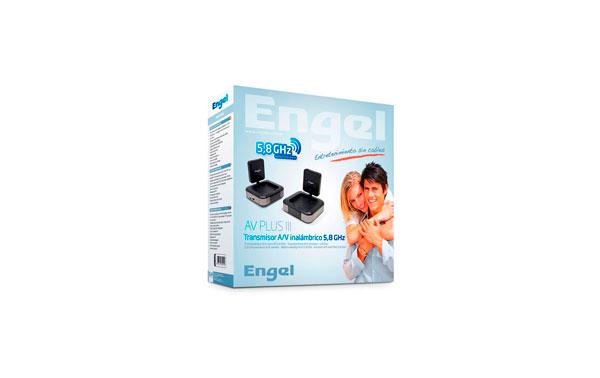 MV7230 ENGEL AV-PLUS III emisor de audio y video de 5,8 Ghz. Emisor + Receptor