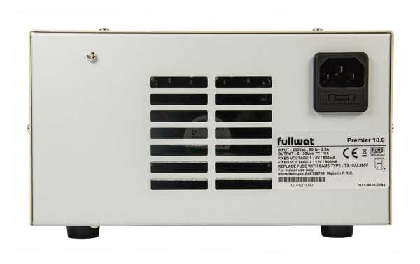 NP-9625 MANSON adjustable power supply 0-30 volts , 0-10 amps