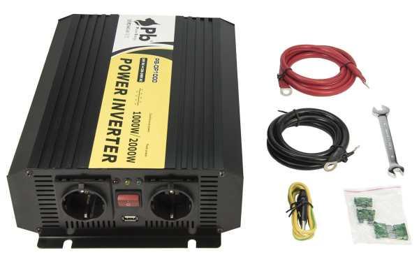 LAFI-241000NS Inversor  Onda Senoidal Pura 24 volt - 220 volt.1.000 wats