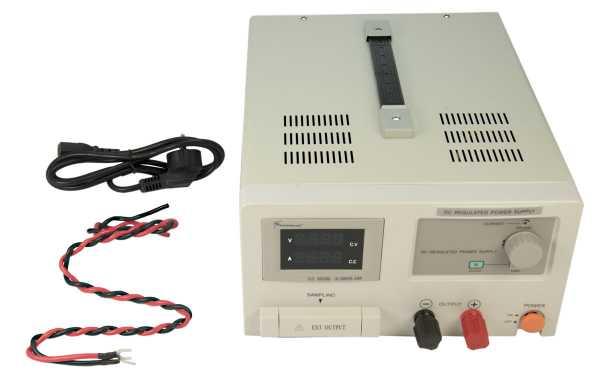 SADELTA SL-3020 Fuente de laboratorio 20 amperios voltage regualable 0 - 30 voltios, con tecnologia SMD, con indicador de Voltage y Amperios