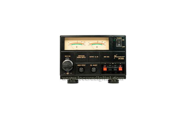 SADELTA SPS-5055 Switching Power Source 220V / 13.8V. 50-55 amperes.