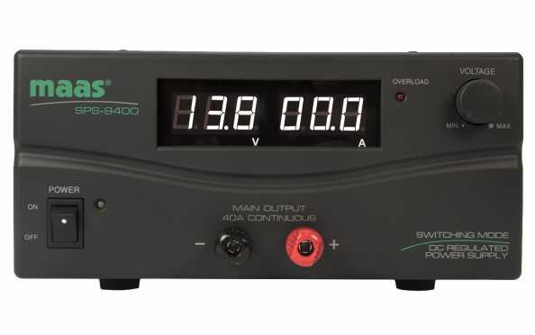 SPS-9400 Fuente Alimentacion Conmutada 230 v Regulable 3 -15v  40 amp.
