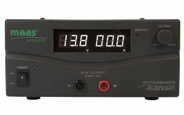 MAAS SPS 9600 de commutation d'alimentation 230v / 3-15V, 60 Amper.