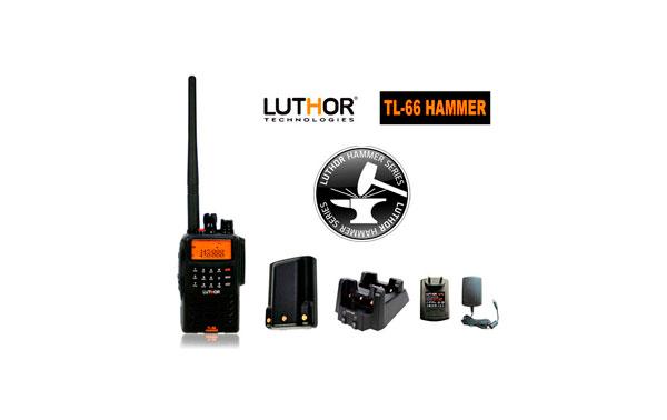 LUTHOR TL-66 HAMMER Walkie doble banda VHF/UHF