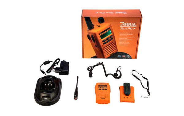 ZODIAC TEAM PRO 80 walkie 66-88 Mhz. Canales 255.