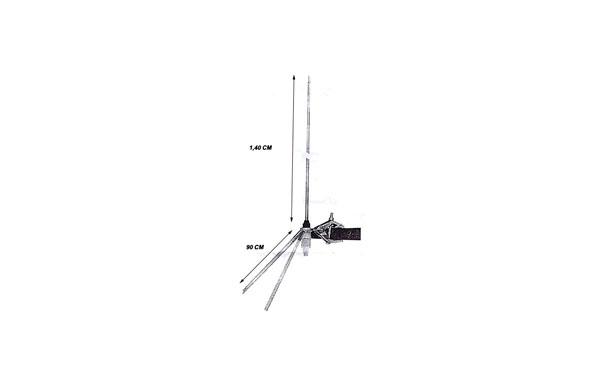 UNIVERSAL SERIAL SIRTEL Balconera 2A CB 27 Mhz  2 mts  easy installation