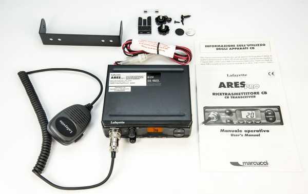 ARESBLACK. CB 27 Mhz marca modelo LAFAYETTE PRETO ARES. AM / FM 4 watts. cor preta.