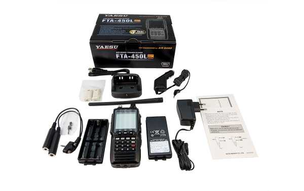 banda FTA450L YAESU Transceiver Air 108-136 MHz