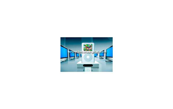 BASE IPOD CONEXION CARGA
