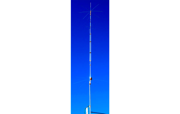 R9 CUSHCRAFT CUSHCRAFT Antena vertical HF multibanda 9 bandas.